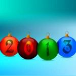 Happy new year illustration — Stock Vector