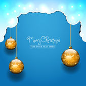 Boże Narodzenie ilustracja wektorowa — Wektor stockowy