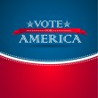 Vote for America - election poster — Stock Photo #17165449