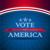 Vote for America - election poster — Photo