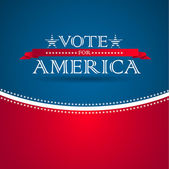Voter pour l'amérique - affiche électorale — Photo
