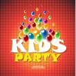 Stock Photo: Kids party