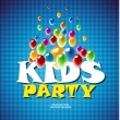 Kids party — Stock Photo