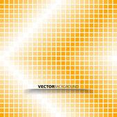 абстрактный оранжевый фон красочные мозаики квадратных пикселей — Стоковое фото
