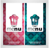 Menu template for restaurant — Stock Photo