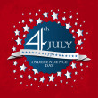 Stock Photo: 4th of July design element