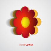 Paper flower — Stock Photo