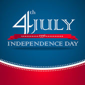 4th of July design element — Stock Photo