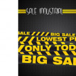 Big sale banner — Stock Photo
