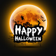 Halloween sign — Stock Vector #31379469