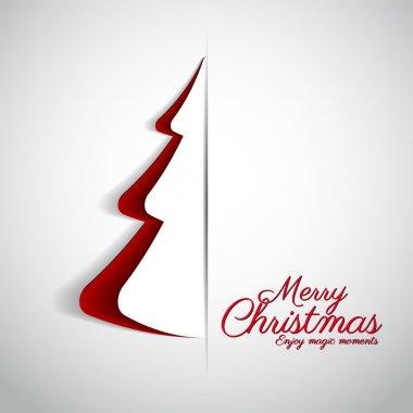 Merry Christmas design greeting card