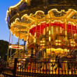 Merry-go-round carousel at night — Stock Photo #35238257