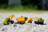 Small car toys — Stockfoto