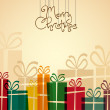 Elegant christmas background — Stock Vector #35562031