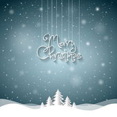 Christmas Greeting Card — Stock vektor