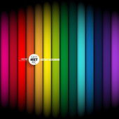Rainbow abstract glowing background. Vector illustration — Stock Vector
