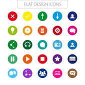 Flat design - icons pack. — Stock Vector