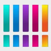 空白矩形标签 — 图库矢量图片