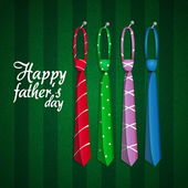 Happy Father's day — ストックベクタ