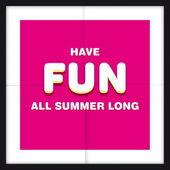 Summer holidays illustration — Stock Vector