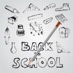 Back to school — Stock Vector #50901799