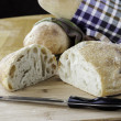 Rustic bread - Stock Photo