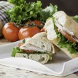 Royalty-Free Stock Photo: Turkey sub sandwich