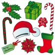 Royalty-Free Stock Obraz wektorowy: Xmas images collection