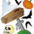 Royalty-Free Stock Vector Image: Halloween theme collection