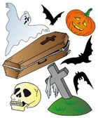 Halloween theme collection — Stock Vector