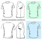 Men's t-shirt — Stock Vector
