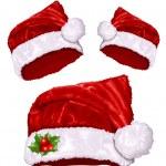 Christmas Santa's hat — Stock Vector