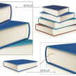Vector books — Stock Vector