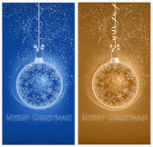 Christmas snowy backgrounds — Stock Vector