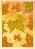 Autumn background. — Vecteur
