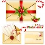 Letter to Santa. — Stock Vector
