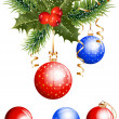 Christmas decoration — Vector de stock #33449233