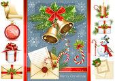 Vánoční objekty — Stock vektor