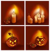 Halloween card — Stock Vector