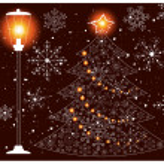 arvore natalina — Vetorial Stock