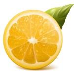 Fresh lemon. — Stock Vector