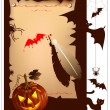 Halloween. — Vector de stock #33450545