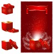 Christmas gift box. — Stock Vector #33521215