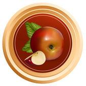 Design of packing jam jar — Stock Vector