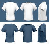 Men's t-shirt design — Stock Vector
