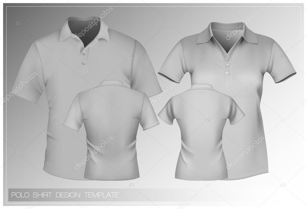 Polo shirt design vorlage stockvektor ivelly 33524587 for Polo shirt design template