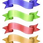 Vector ribbons. — Stock Vector