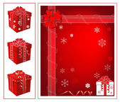 Vector christmas background — Vetorial Stock