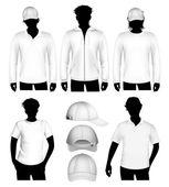 Szablon projektu ubrania wektor — Wektor stockowy