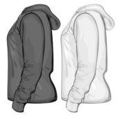 Hooded sweatshirt — Stock Vector